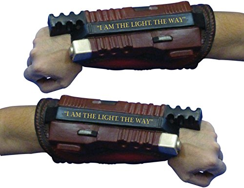 Teen Joker Costumes (Rubie's Costume Co. Men's Suicide Squad Deadshot Deluxe Gauntlets, As Shown, One Size)