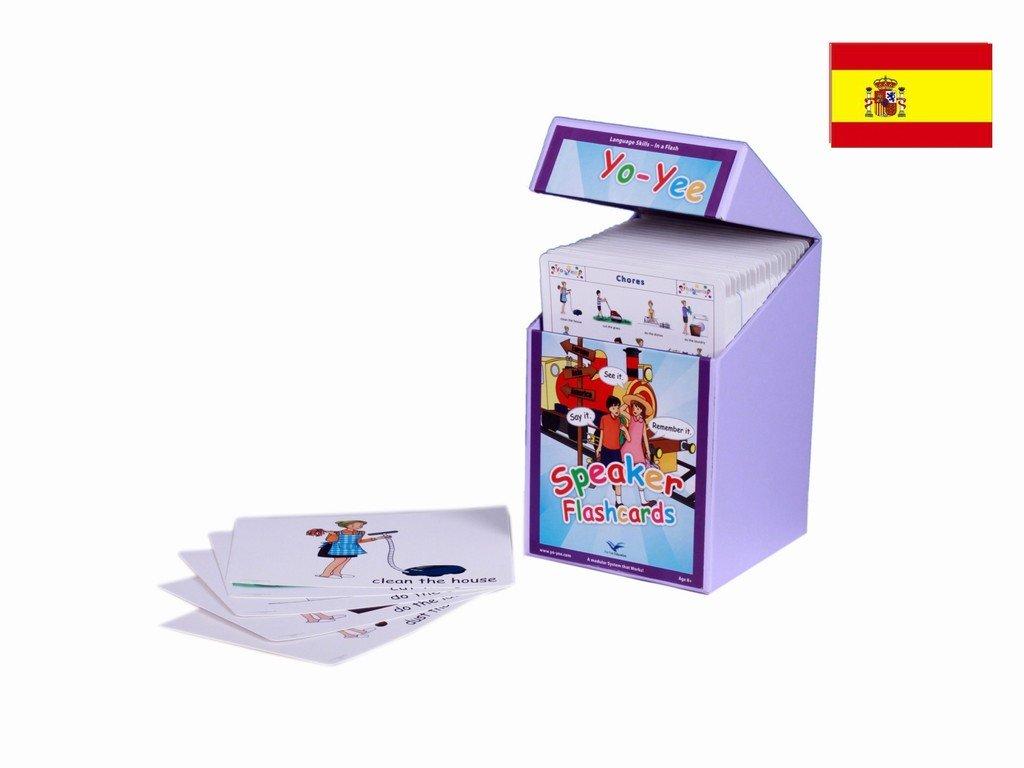 Spanish Speaker Flash Cards Kit for Teachers - Palabras e imagenes - Español para niños