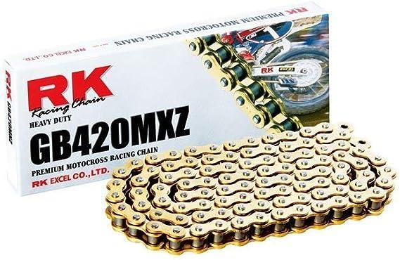 KX 80 Big Wheel 92-94 KLX 110 02-17 KX 100 95-17 KX 85 Big Wheel 01-17 KX 65 00-17 KX 60 83-03 New Supersprox G420-MXT-134 420 Non O-Seal Chain 134 Link for Kawasaki KDX 80 80-88 KX 85 01-17