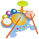 Liberty Imports Junior Fun Beats Musical Drum Set for Baby