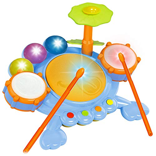 Liberty Imports Junior Fun Beats Musical Drum Set for Baby