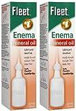 fleet enema mineral oil - FLEET Mineral Oil Enema, 2 pk