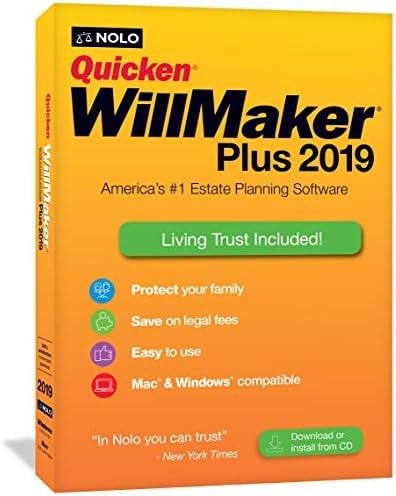 Quicken WillMaker Plus 2019 and Living Trust software