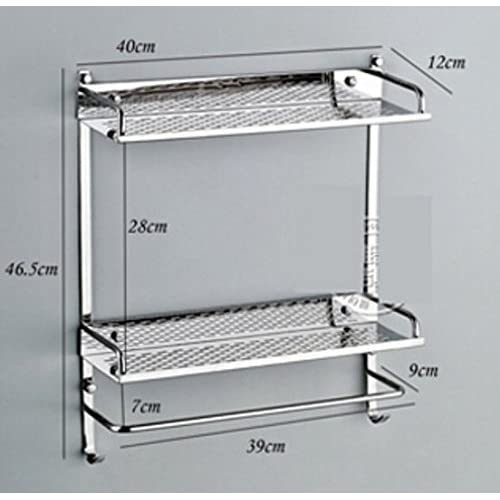 70%OFF Stainless steel racks/Wall bathroom shelf cosmetics/Kitchen pendants/the shelf in the bathroom-K