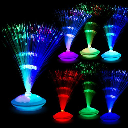 LED Fiber Optic Centerpiece - 12