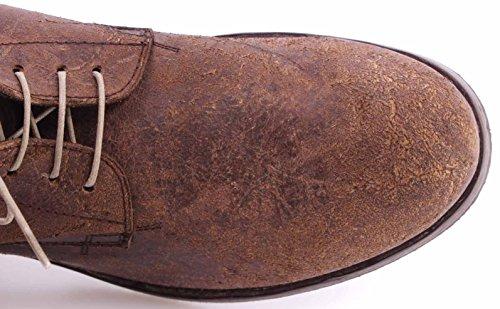 IT Polacco Maracca MOMA Brown Uomo Vintage 55603 Waxy Y3 Scarpe Cuero Tronchetti FXqPP