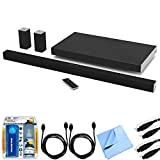 Vizio SB4551-D5 SmartCast 45'' 5.1 Sound Bar System w/ Essential Accessory Bundle includes Sound Bar, 2 x 6' Optical Toslink OD Audio Cables, 2 x 6' HDMI Cables, Cleaning Kit and Microfiber Cloth