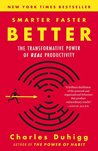 Smarter Faster Better: The Secrets of Being Productive in Life and Business by [Duhigg, Charles]
