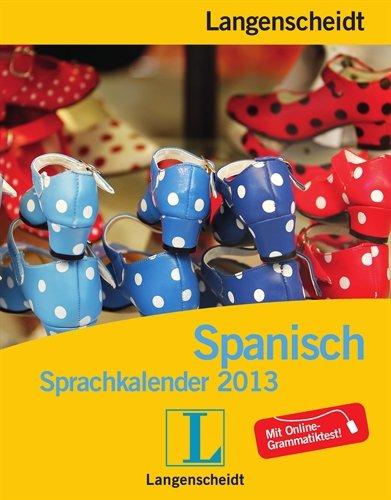 Langenscheidt Sprachkalender 2013 Spanisch   Abreißkalender