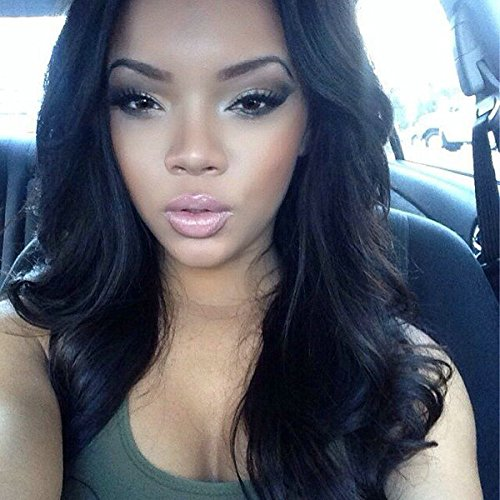 Price comparison product image SINA Indian Virgin Hair 3 Bundles 20 with 16 inches Lace Closure Indian Virgin Hair Body Wave Lace Closure with Bundles Human Hair Extension No Shed No Tangle