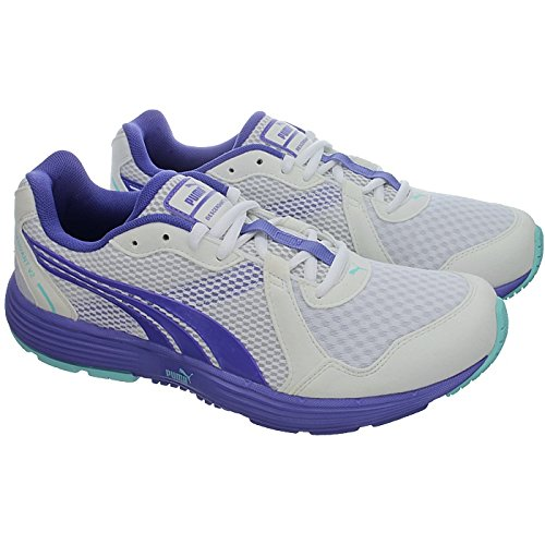 Iris Femme Running DESCENDANT Blanc Bleu V2 Puma Chaussures qwtCBFH