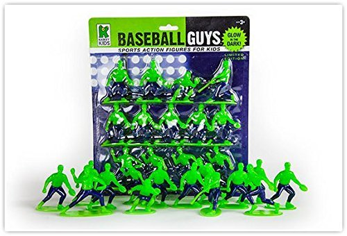 Kaskey Kids Glow in the Dark Baseball Guys Mini Packs by Kaskey Kids Toys -