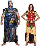 DC Comics Dynamic Duo Batman and Robin Poncho Set Men Women