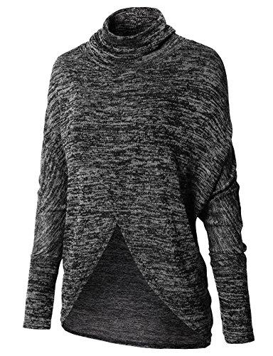 Surplice Wrap Sweater - 2