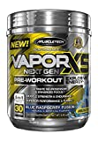MuscleTech Performance Series Vapor X5 Next Gen Pre Workout Powder with Creatine, Beta Alanine, Betaine, Nitric Oxide and Energy, Blue Raspberry Fusion, 30 Servings