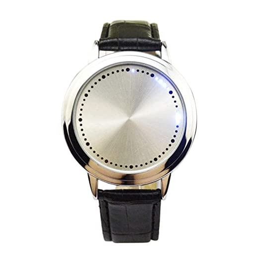 Relojes de Lujo Personalidad Única Reloj Digital para Hombre Reloj Deportivo Relojes LED Relojes Hombres Relojes Vestido de Mujer Relojes Deportivos ...