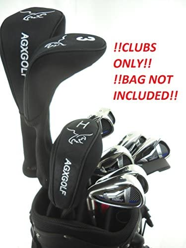 AGXGOLF Men's Left Hand Magnum Complete Golf Club Set w Oversize Driver