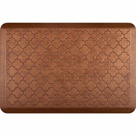 WellnessMats Estates Collection Essential Series Copper Leaf Trellis 3 x 2 Foot Anti-Fatigue Mat