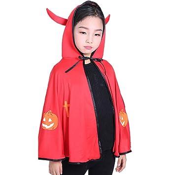 Cosanter Halloween Umhange Kleiner Teufel Mantel Fur Kinder Junge