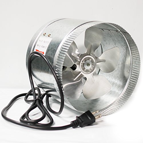 Long Fan Cords : Ipower glfanxbooster inline duct booster fan with cord