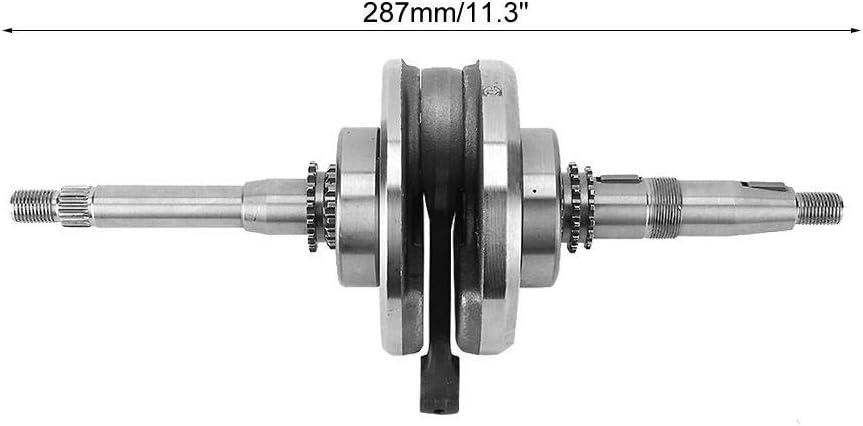 287 mm de aleaci/ón de cig/üe/ñal Eje Scooter Ciclomotor ATV Piezas aptas para 157QMJ GY6 150CC Akozon Cig/üe/ñal