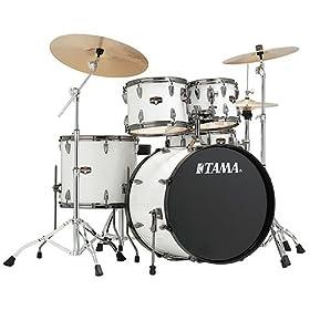 Tama Imperialstar Complete Drum Set - 5-piece - Sugar White 7