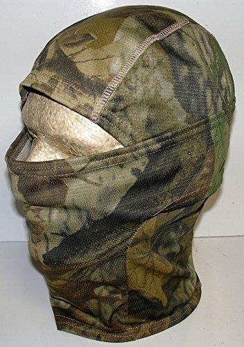 Woodland Real Mossy Oak Leaf Tree Camofluage Camo Balaclava Tactical Hunting Face Mask (Tan Tree Oak)