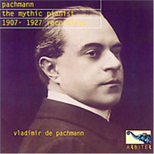 Mythic Pianist Branded goods High order Vladimir Pachmann De