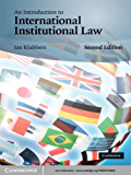 An Introduction to International Institutional Law