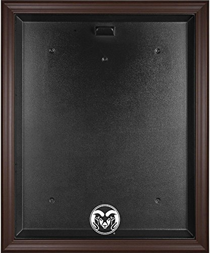 Colorado State Rams Brown Framed Jersey Display Case - Fanatics Authentic Certified - College Jersey Logo Display Cases by Sports Memorabilia