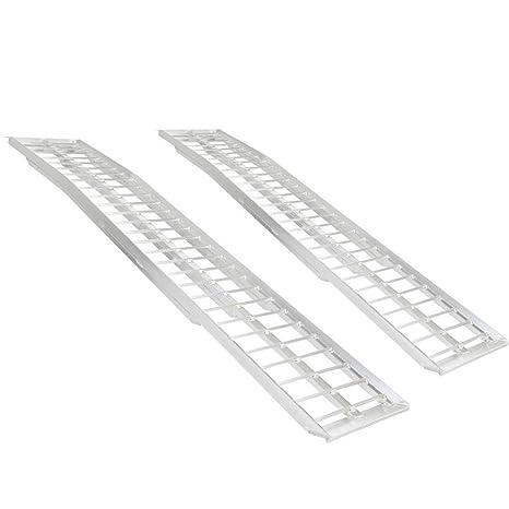 Aluminum Atv Ramps >> Rage Powersports Dual Arched Aluminum Non Folding Atv Ramps