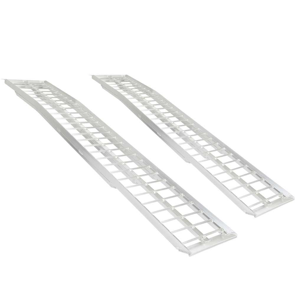 Rage Powersports 95'' Aluminum Non-Folding Arched Lawn & Garden Equipment Loading Ramps