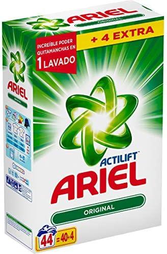 Ariel Detergente en Polvo - 1 Unidad: Amazon.es: Salud y cuidado personal