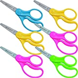 Westcott School Left & Right Handed Kids Scissors, 5-Inch (6-Count) Deal (Small Image)