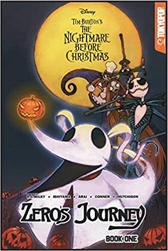 Disney Manga Tim Burton S The Nightmare Before Christmas Zero S