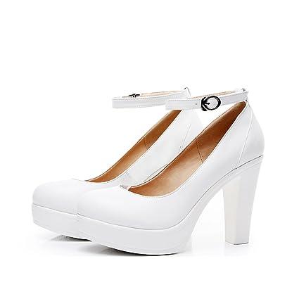 f03309ea84 Single shoes - female Scarpe da donna ruvide con tacco alto scarpe ...