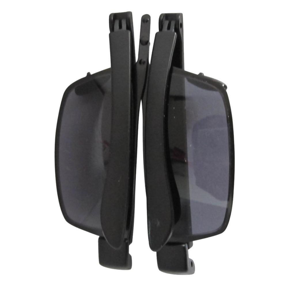 Eyekepper Thin Metal Frame Plastic Arms Folding Sunlasses