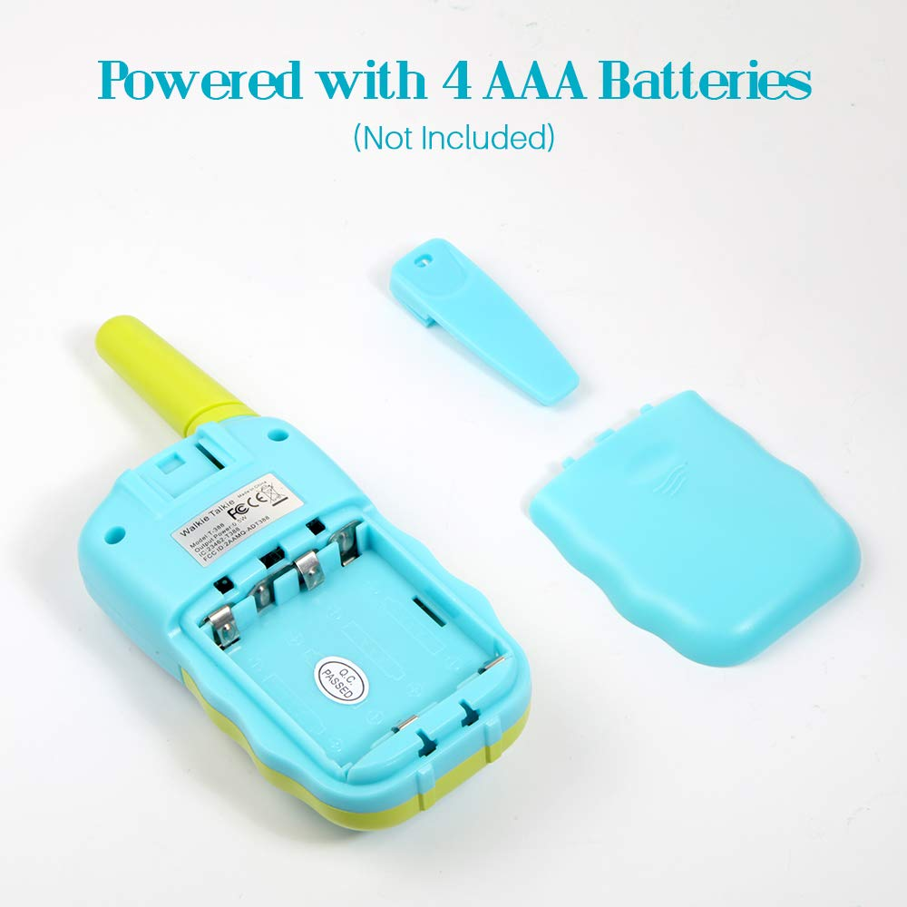 OMWay Toys for 4-5 Year Old Boys, Walkie Talkies for Boys Age 5-10,Outdoor Toys for Kids Toddlers,Kids Camping Gear,3-12 Year Old Boy Gifts,2 Way Radio,2 Miles,Birthday Gifts Ideas. by OMWay (Image #5)