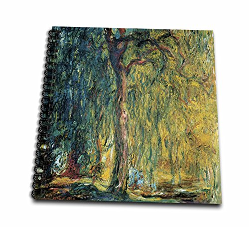 UPC 190133489831, 3dRose db_80628_2 Picture of Monet's Painting Weeping Willow-Memory Book, 12 by 12""