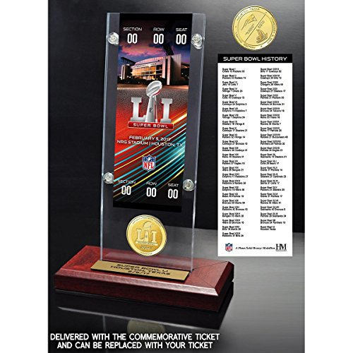 super bowl ticket picture frame - 2