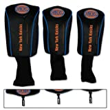 WinCraft NBA New York Knicks 3 Pack Mesh Longneck Headcover Set
