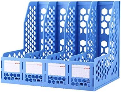 Datei Halter Ordner Aufbewahrungsbox Desktop-Datenspeicherregal Ordner Regal Convenience (Farbe: B) Xping (Color : A)