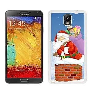 2014 Newest Santa Claus White Samsung Galaxy Note 3 Case 2