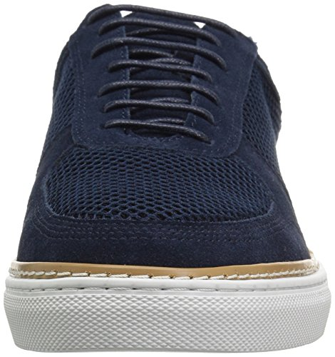Lavanderia Inglese Mens Landseer Fashion Sneaker Blu Marino