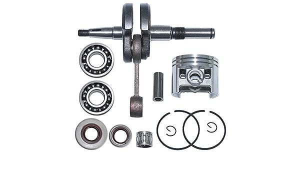 52MM Cylinder Piston Crankshaft Bearing Oil Seal For STIHL 038 MS380 New