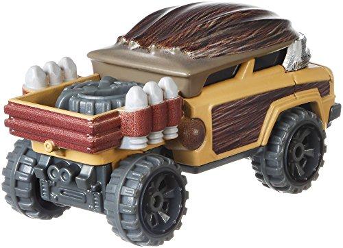 Hot Wheels Chewbacca Vehicle - Wheels Card Hot Stars