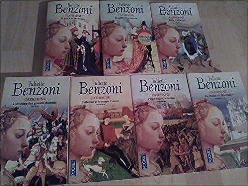 Amazon Fr Catherine Par J Benzoni Serie Complete