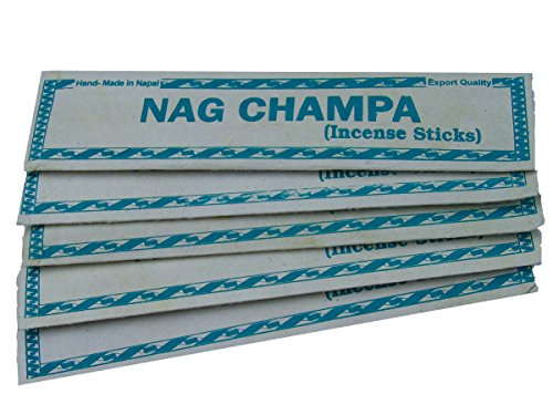 Nag Champa Handmade Incense in lokta paper Pack of 5 by Dancing Buddha