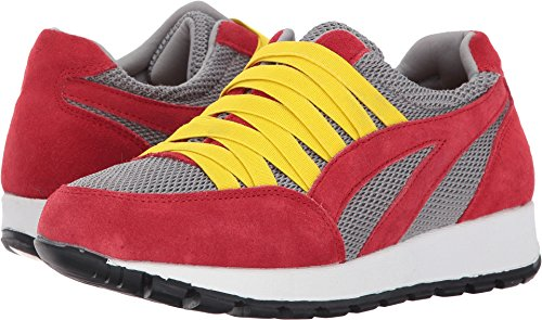 Bernie Womens Tara Cano Red Grey Mev grwH18qg