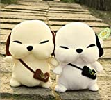 Korean couple dogs 1 Pair Stray dogs rogue dogs Plush Doll Soft Toy